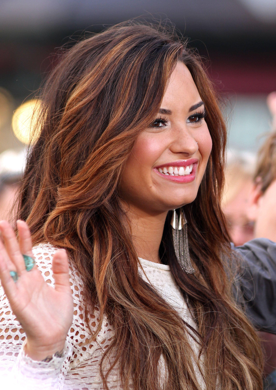 Demi Lobato | Qué Sonrisas!! | Pinterest | Hair coloring ...