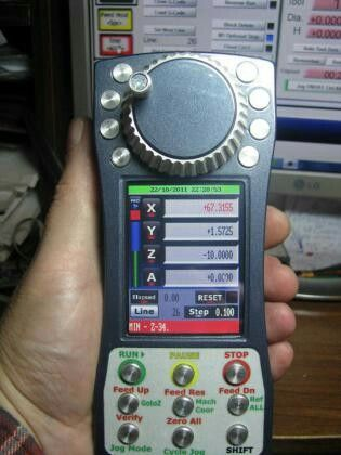 Cnc pendant controller for mach 3 vajno pinterest cnc cnc pendant controller for mach 3 aloadofball Choice Image