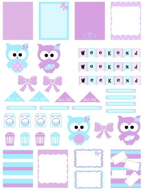 Erin Condren Planner Stickers: Sweet and by CharmingPapers on Etsy