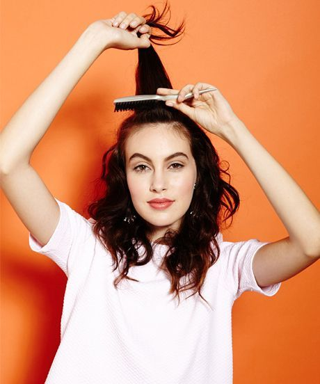How To Tease Your Hair - Styling Tips, Tricks, Advice ...