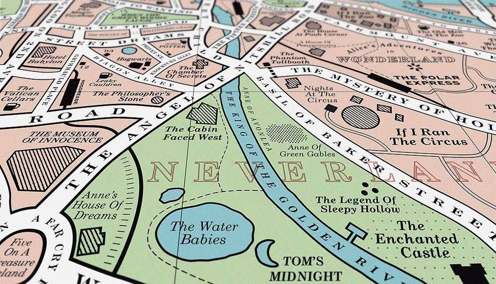 This Map Will Delight Book Lovers Everywhere (via BuzzFeed)