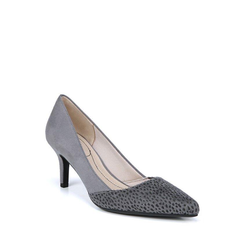 Lifestride Women s Sasha Medium Wide Pump Shoes (Grey Black ... b07cc8b601f5