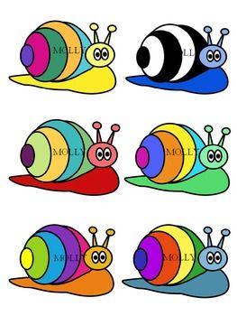 snail clipart, molly tillyer clip art