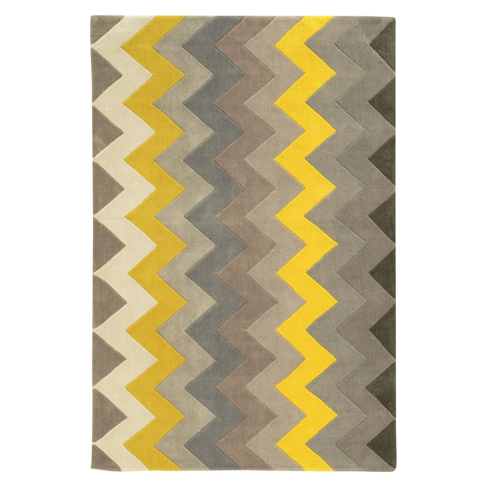 Va Va Voom Wins The Day With The Trio Collection Zigzag Rug The