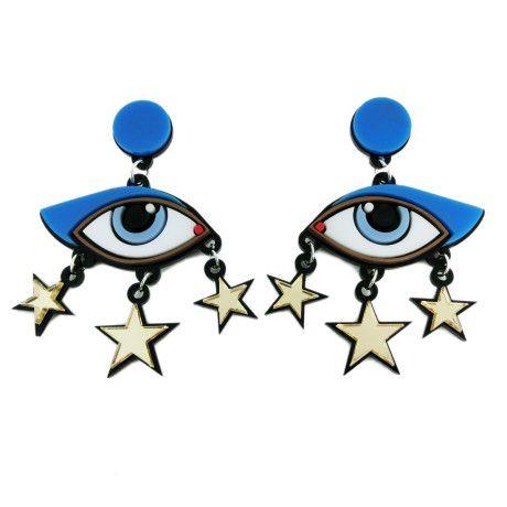 Love this: Bette Davis Eye Earrings @Lyst