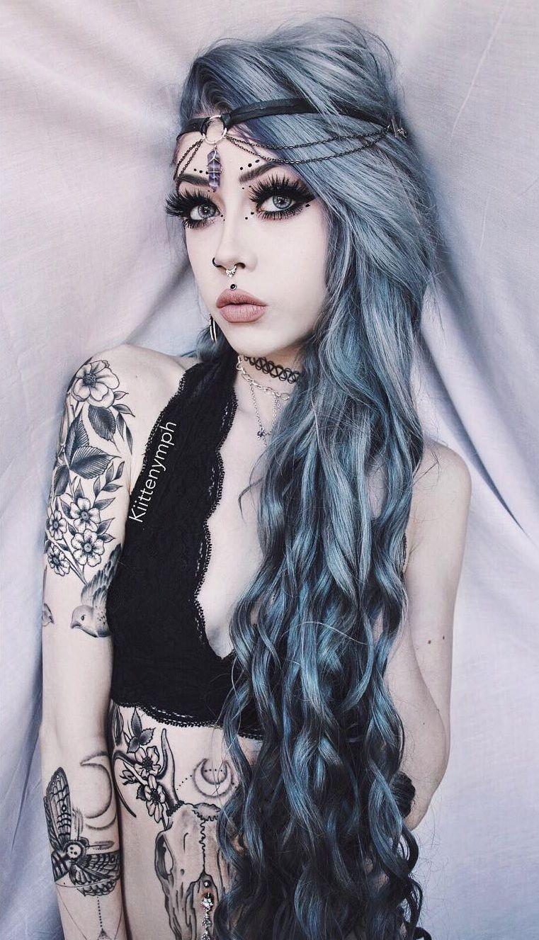 Kittennymph  Hairstyles  Hair, Hair Styles, Makeup-7880