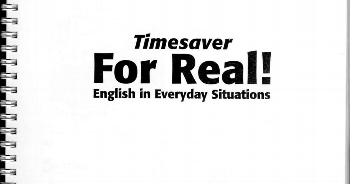 English In Everyday Situationspdf