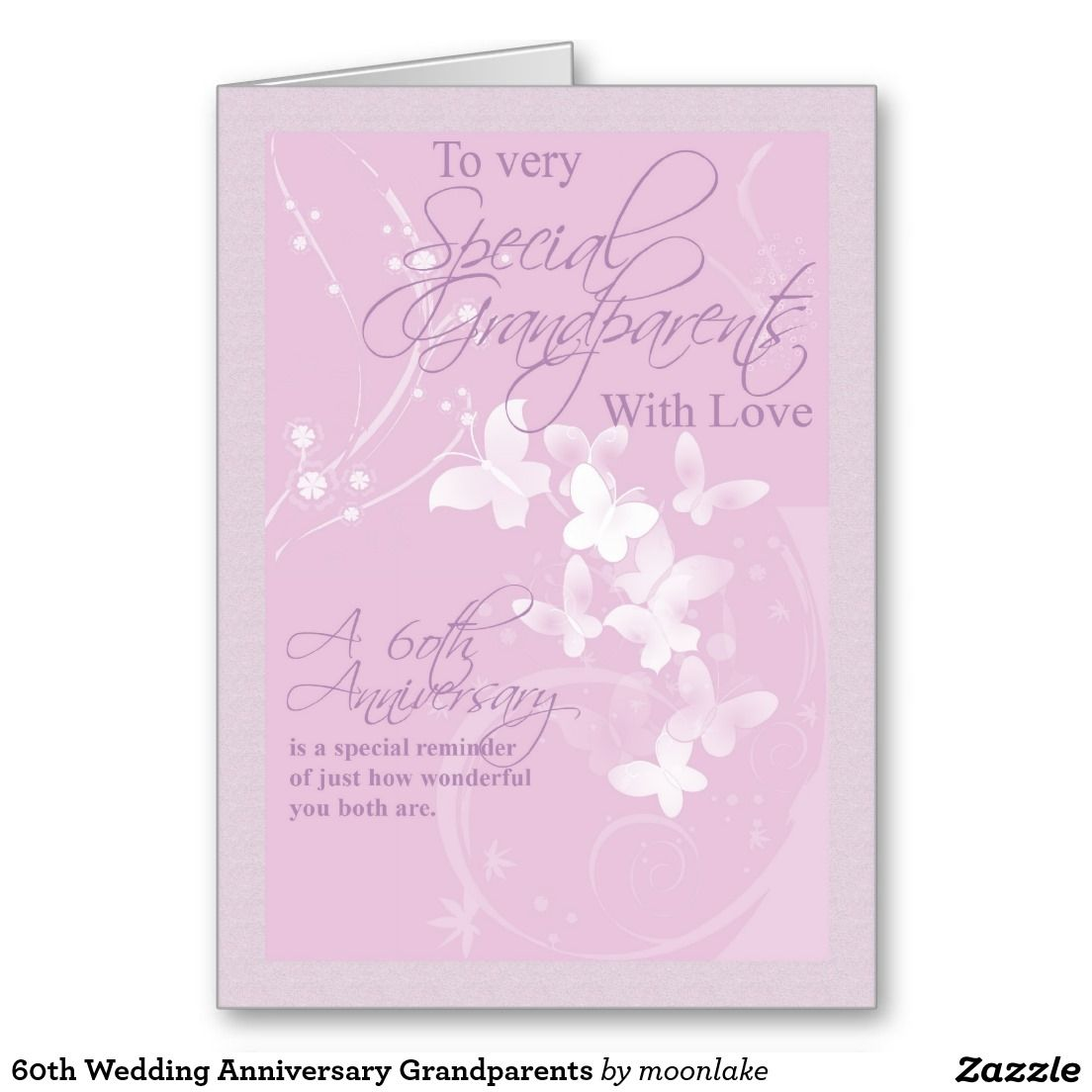 60th wedding anniversary grandparents greeting card greeting cards 60th wedding anniversary grandparents greeting card kristyandbryce Choice Image