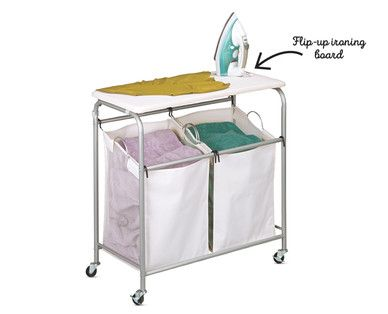 Aldi Us Easy Home Double Sorter With Ironing Board Grocery Ads