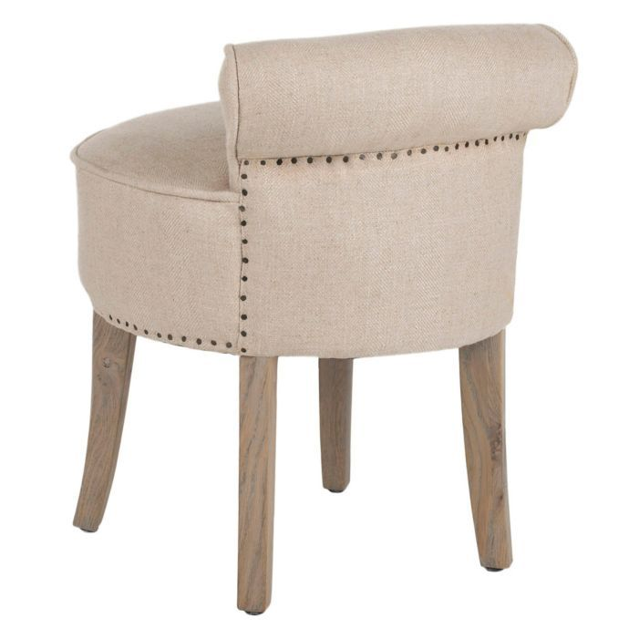 Safavieh Georgia Vanity Stool Vanity Stool Stool Stylish Chairs