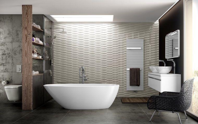 Mobili Bagno Freestanding : Mobili bagno stile moderno vasca freestanding bagno bathroom