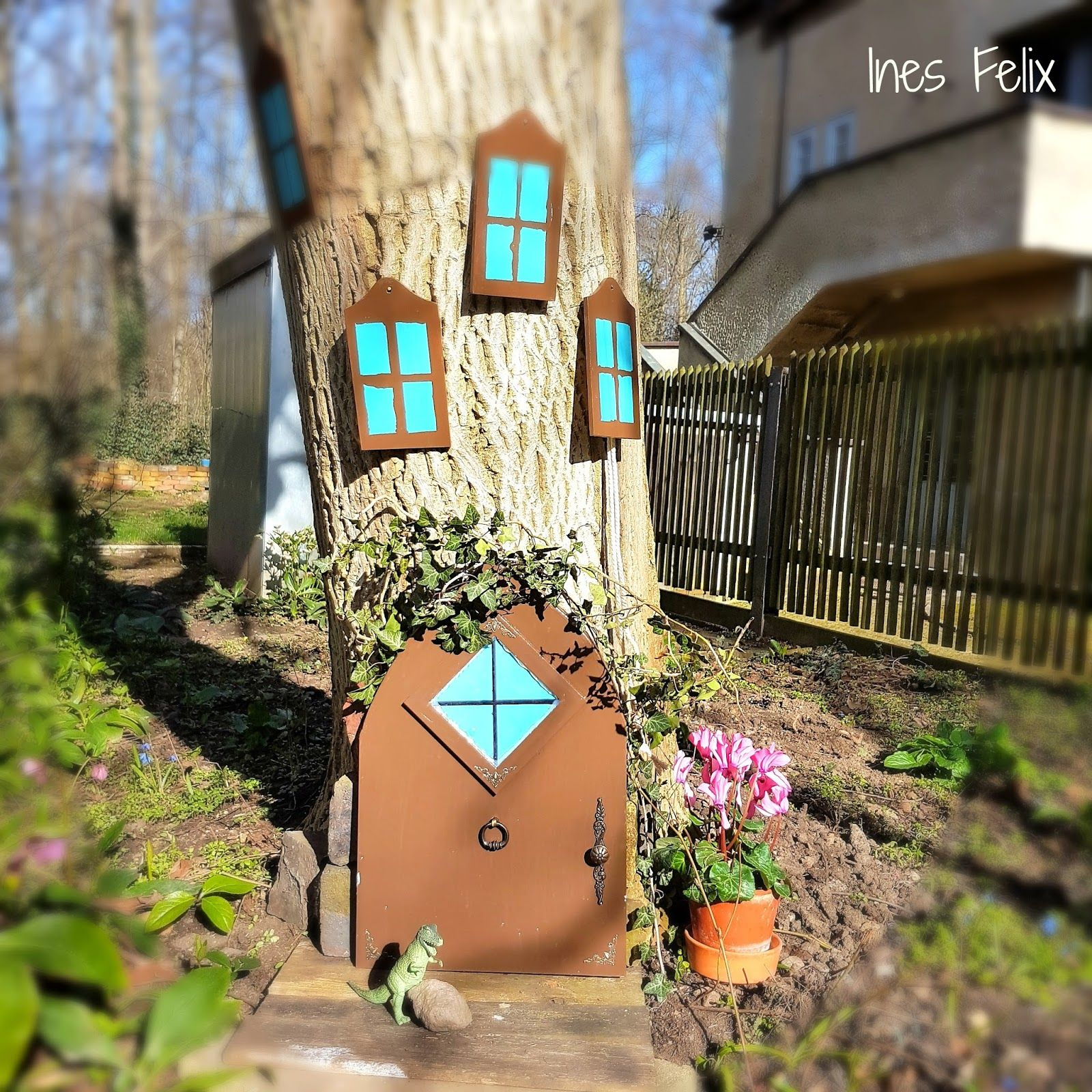 Gartendeko Basteln, selber, machen, basteln, diy, ideen, anleitung, ines felix, Design ideen
