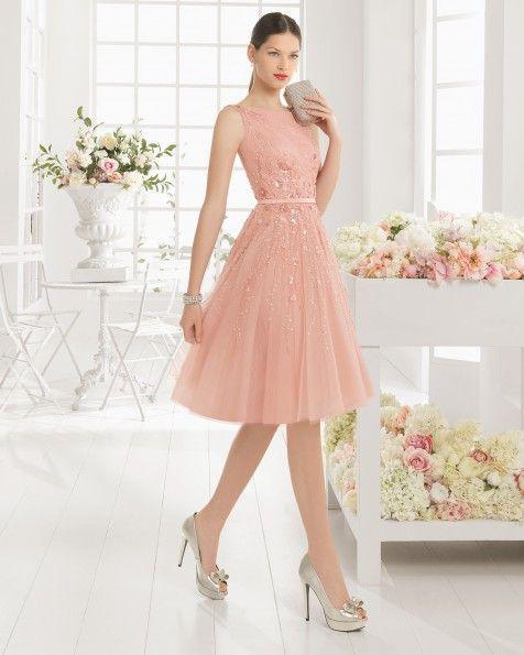Resultado De Imagen Para Vestido Rosa Pastel Con Pedreria