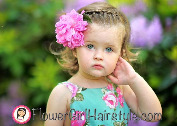 Sometimes Little Ones Are Chosen As Flower Girls! Young