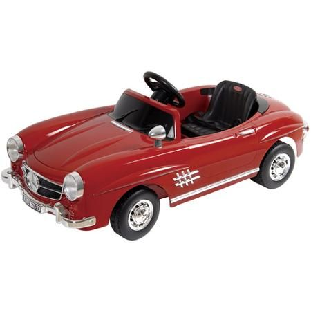 Kalee Mercedes-Benz 300SL W 198 12-Volt Battery-Powered Ride-On, Red