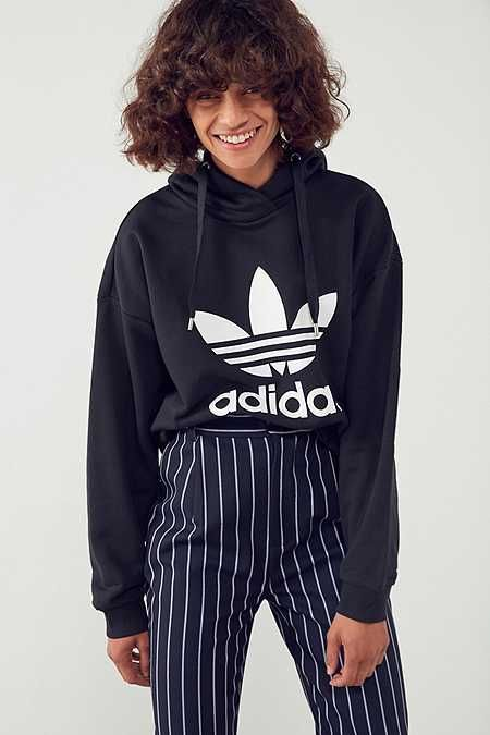 adidas Originals Trefoil Boyfriend Hoodie Sweatshirt  383a48588f2