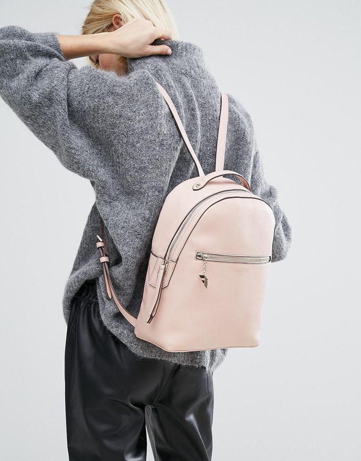 Look love  Mini blush pink backpack  9224d7e0112dc