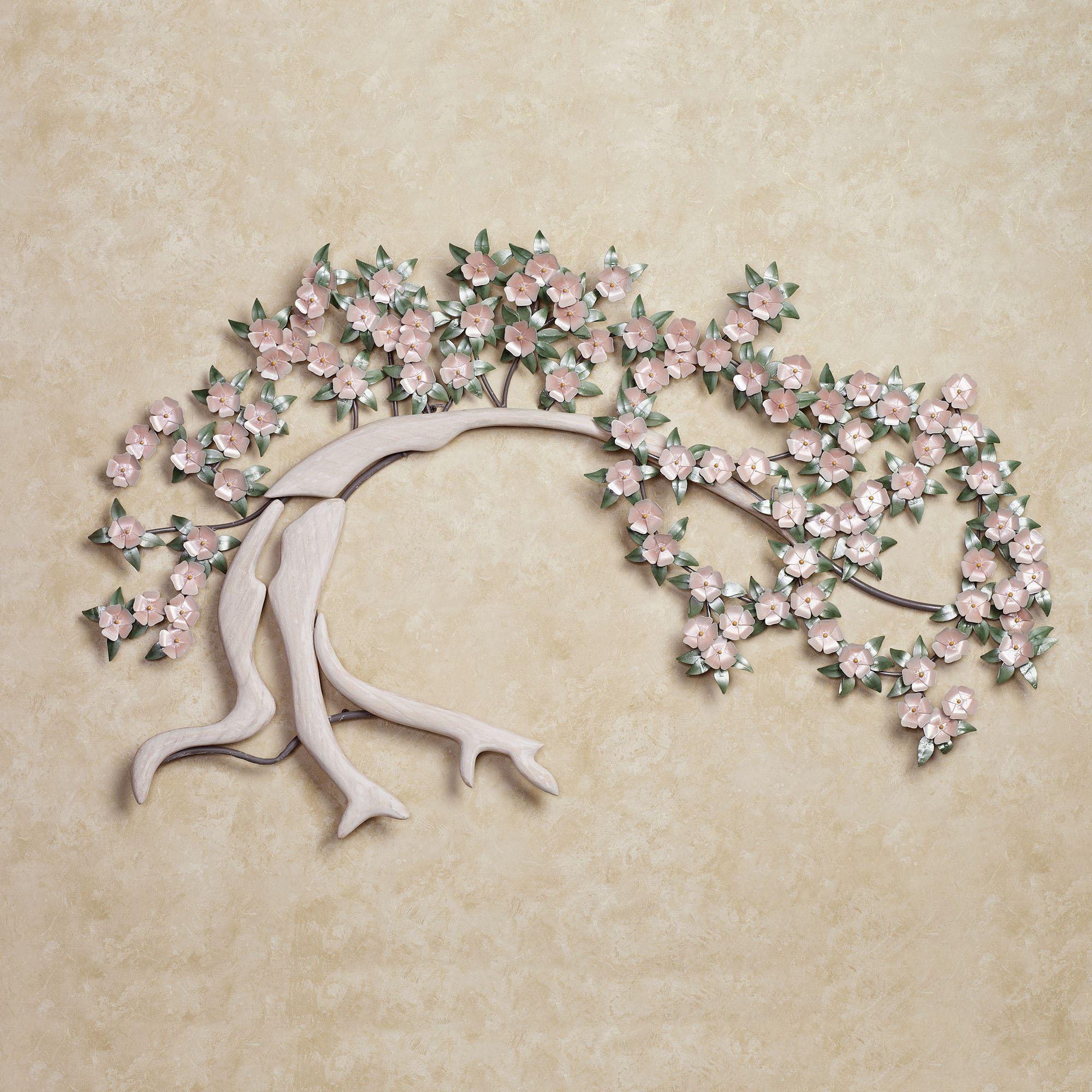 Weeping cherry metal wall sculpture studios sculpture and art