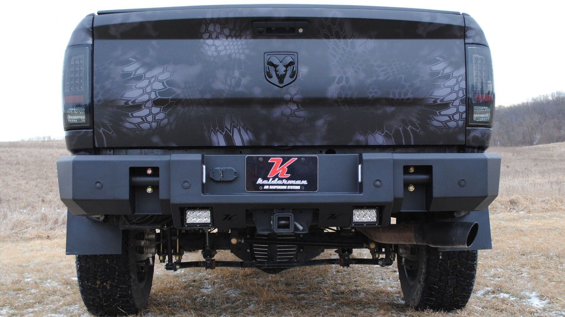 Kelderman Ram 2500, Bumpers