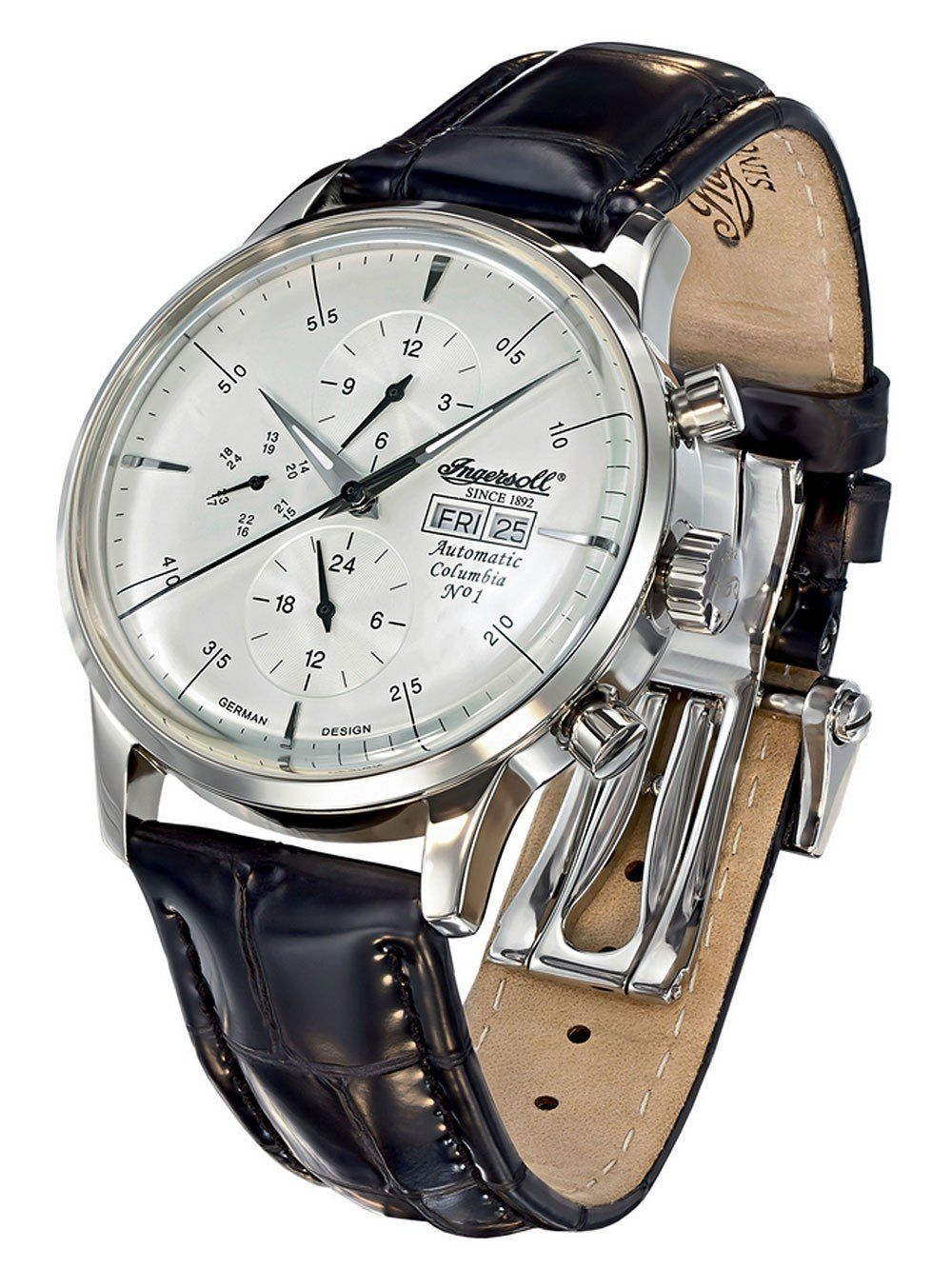 Ingersoll IN2819CH Columbia No.1 Automatik Automatic Watch, Watch Brands,  Columbia, Armband