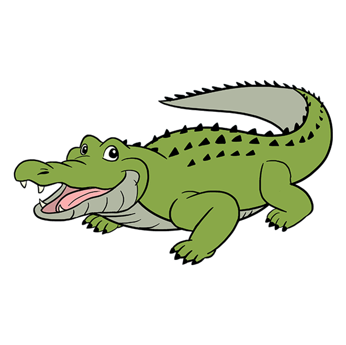 How To Draw An Alligator Really Easy Drawing Tutorial Easy Drawings Drawing Tutorial Easy Drawings