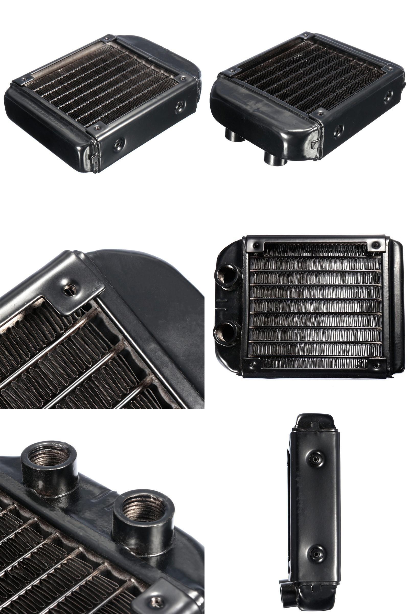 Visit to Buy] Brand New G1/4 120mm Aluminum Heat Exchanger