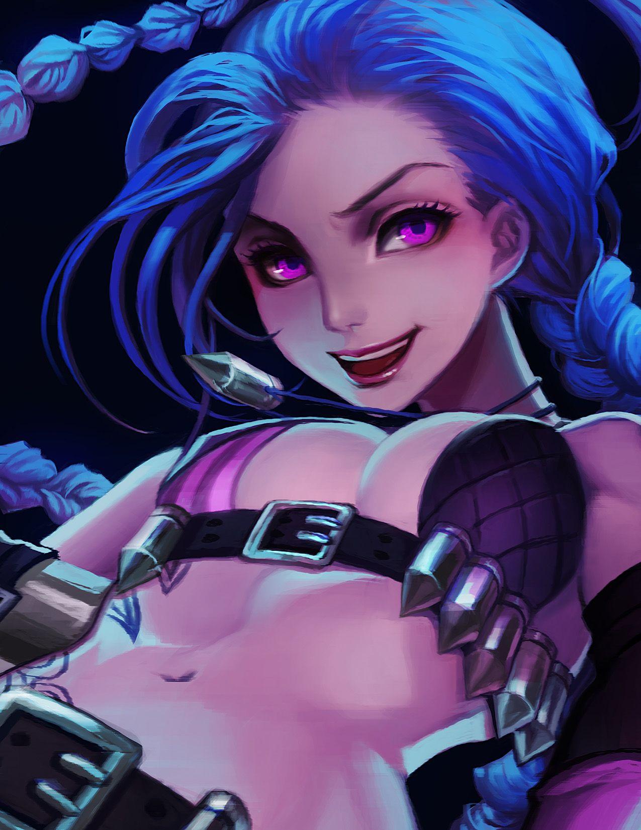 league-of-legends-sexy-girls: Jinx | Jinx | Pinterest
