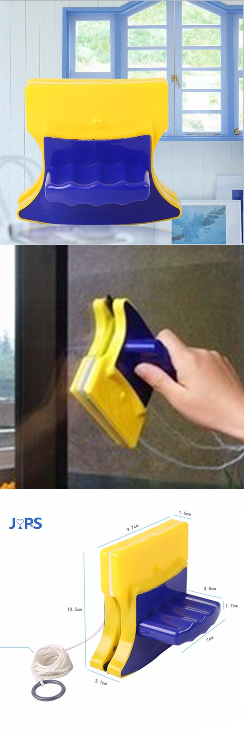 [Visit to Buy] Magnetic brush for washing windows Household Double-sided window wizard cleaning tool magnetic window cleaner #Advertisement