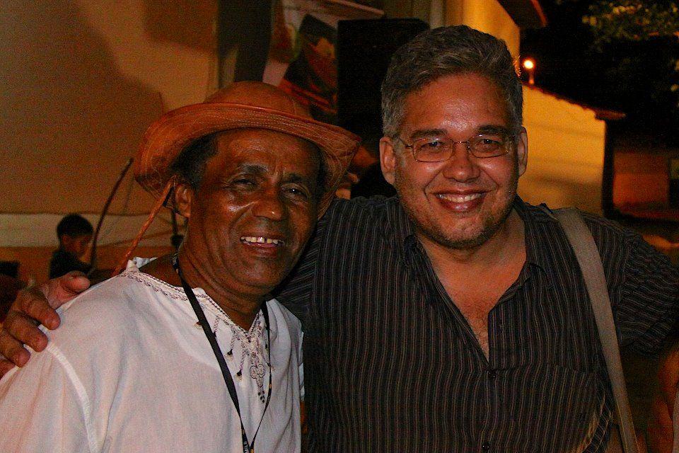 """Braguinha Barroso, mestre de viola pelas terras do Tocantins... Foi um grande prazer conhecê-lo e poder conversar do saudoso Dércio Marques, que tanto ensinou de """"Culturas Achadas"""" durante toda a vida"""