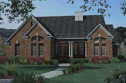 House Plan 098-00297 - Modern Farmhouse Plan: 3,052 Square Feet, 4 Bedrooms, 3.5 Bathrooms #smallmodernfarmhouseplans