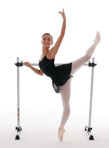 Vita Vibe Ballet Barre Bnb4 4ft Portable Single Bar W Bag Freestanding Stretch Dance Usa Made By 110 95