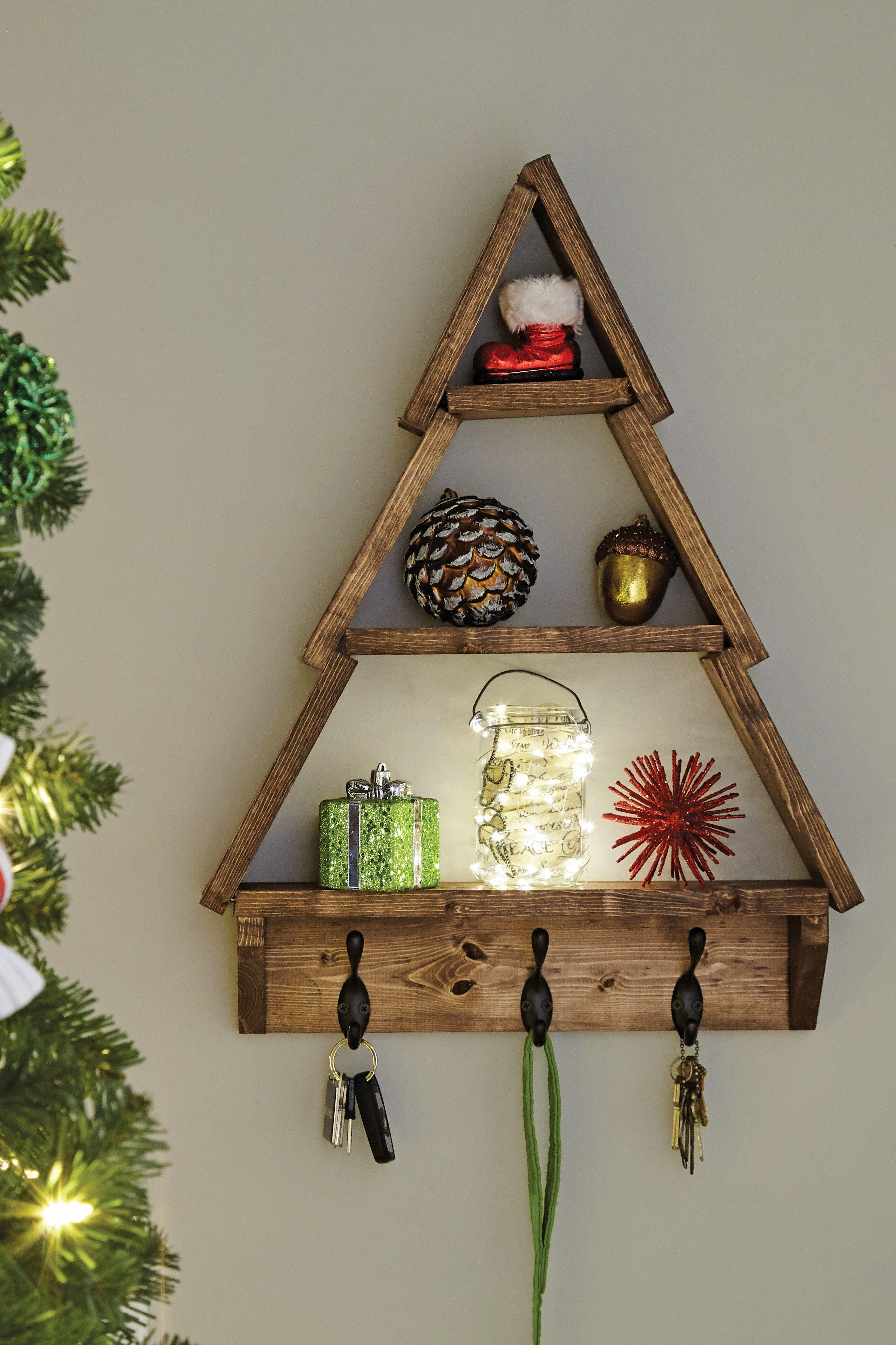 """DIY"" Virtual Party….wanna join in?! Tree shelf"