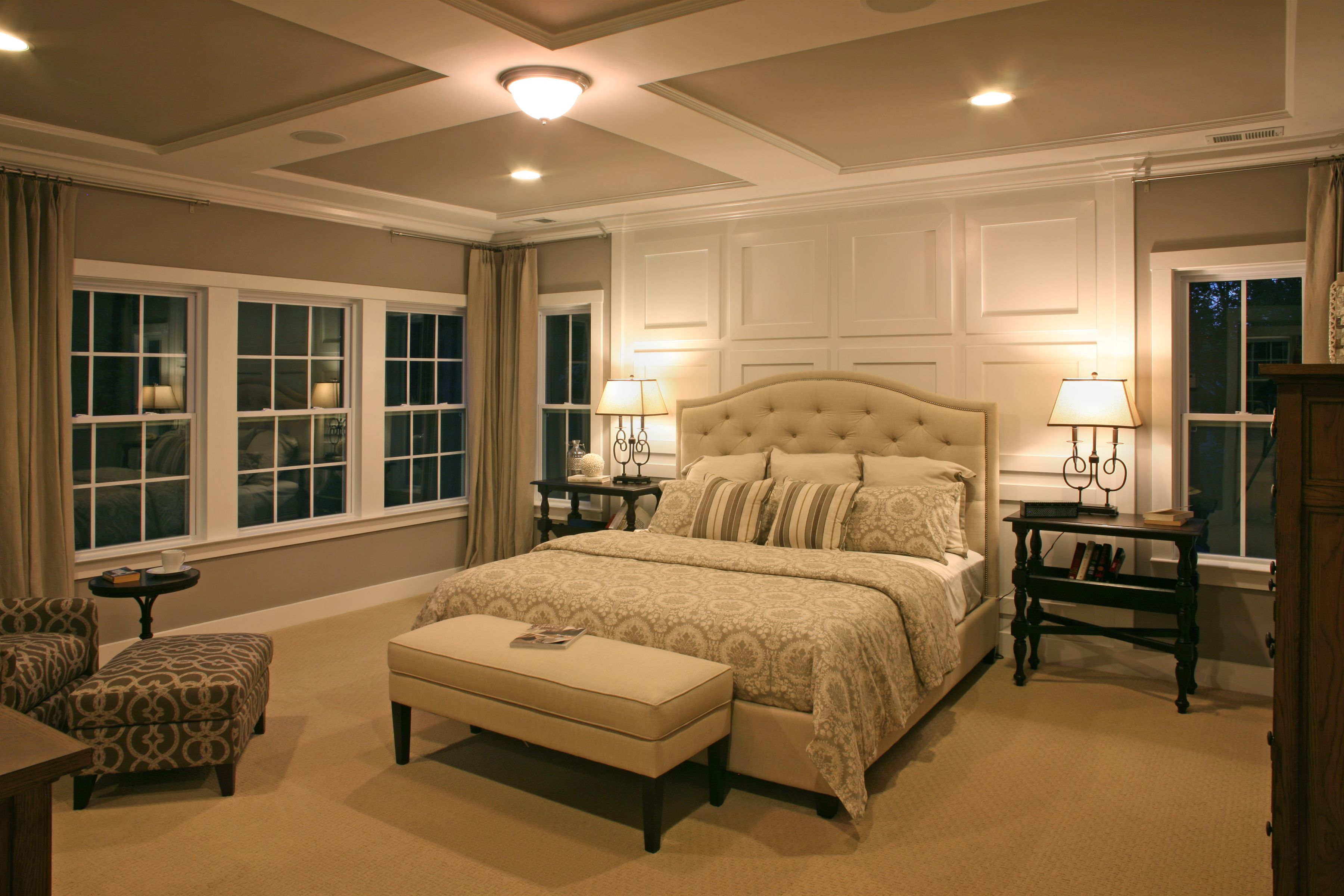 Master bedroom ensuite design  Master suite Imagine resting your head here every night Design by