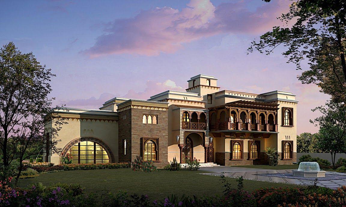 top arabian villa - Căutare Google | façade | Pinterest