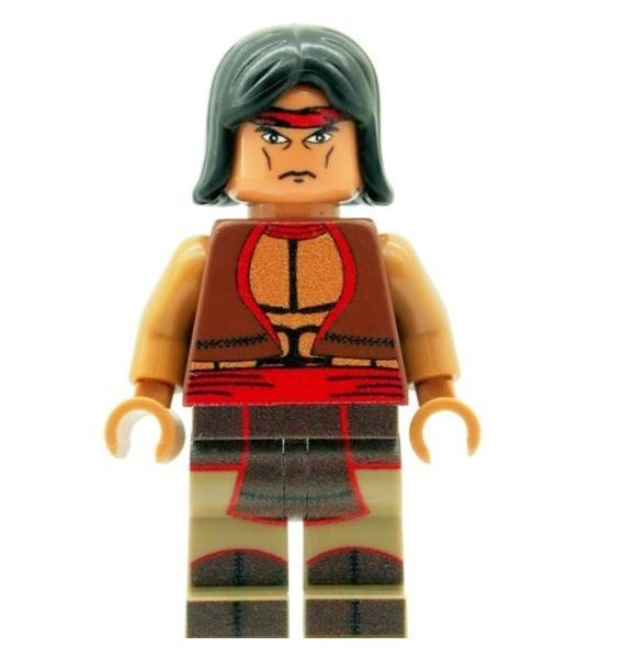 Warriors Printed on LEGO Parts Custom Designed Minifigure Cochise