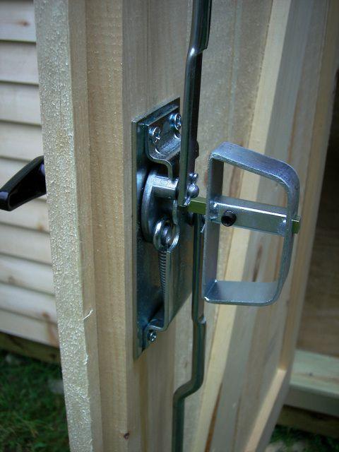 D Handle Shed Door Hardware Shed Door Lock Ideas Shed Doors