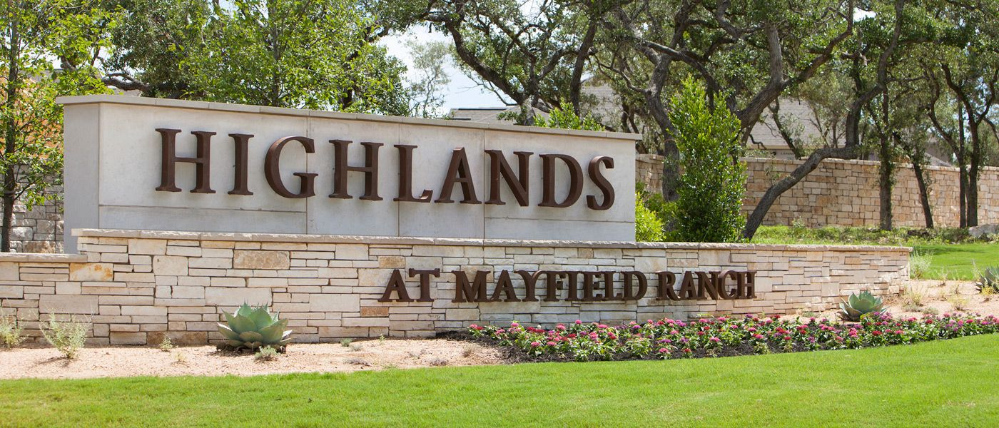 Home highlands at mayfield ranch new homes from the