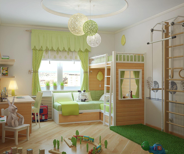 Ламбрекены в детскую (53 фото): в комнату для девочек и ...