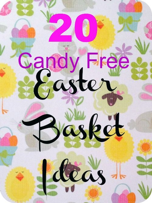 20 candy free easter basket ideas basket ideas easter baskets 20 candy free easter basket ideas negle Gallery
