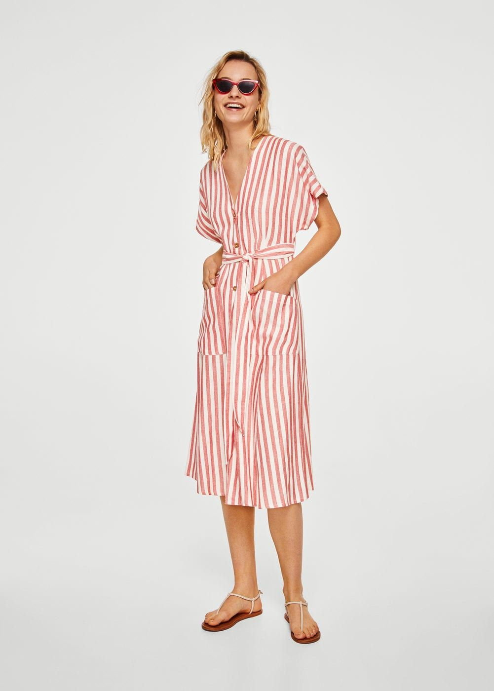 Striped cotton dress - Women in 2019   Fashions   Pinterest ... 21769825be
