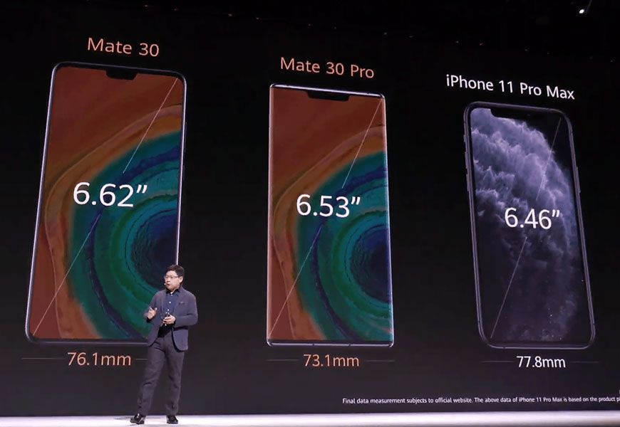 Smartphones Mate 30 and Mate 30 Pro run on an open version