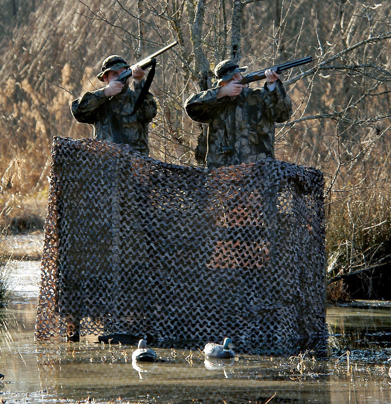 Camouflage Netting Duck Blind Tree Stand Skirt Atv Cover Paintball Blind Woodland Camo Outdoor Hunting Camouflage