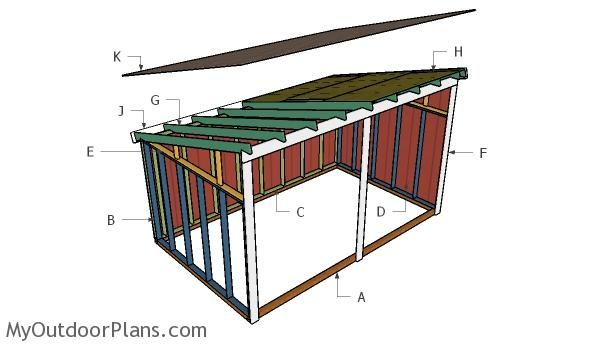 Free Run In Shed Plans Myoutdoorplans Free Woodworking Plans And Projects Diy Shed Wooden Playhouse Pergola Bbq 10x20 Shed Shed Roof Design Diy Shed