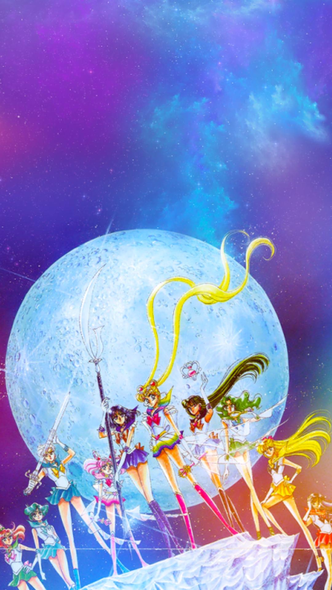 Kawaii Sailor Moon Iphone Wallpaper Ipcwallpapers Sailor Moon Wallpaper Sailor Moon Art Sailor Moon Aesthetic