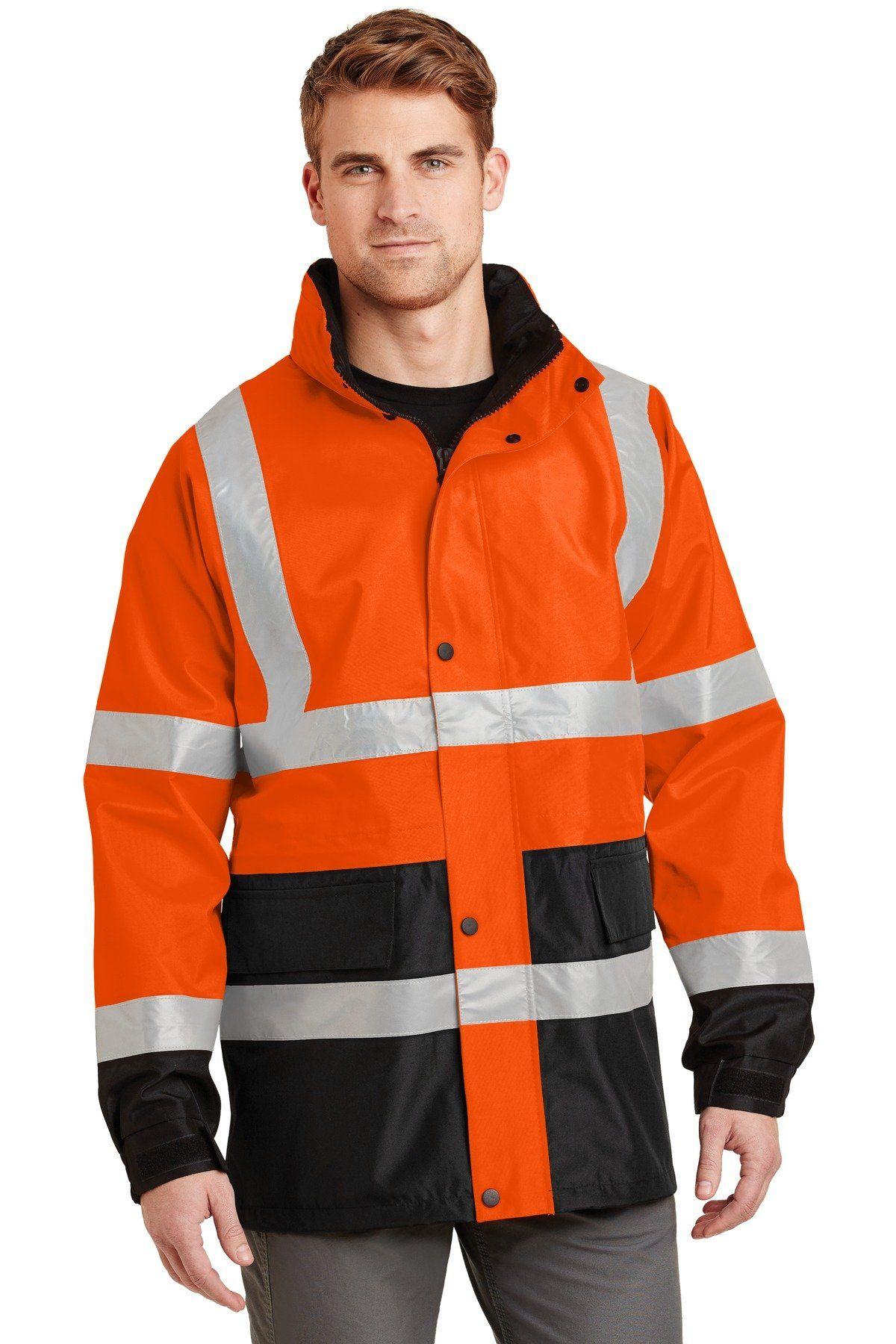 class 3 safety vest black