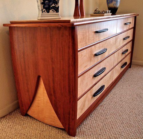 Wood Bedroom Furniture, Unique Furniture Makers Dresser