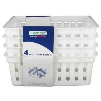 4-Piece Square Utility Basket Set