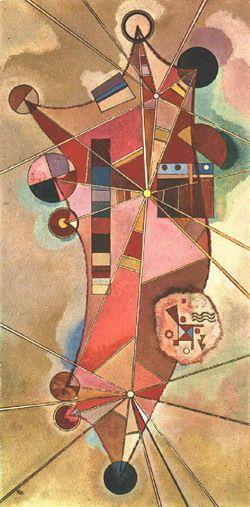 Painter Wassily Kandinsky. No name. 1929
