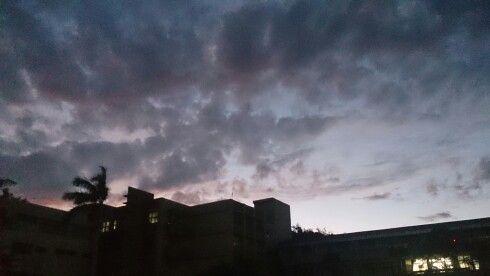 11/3回家時的天空