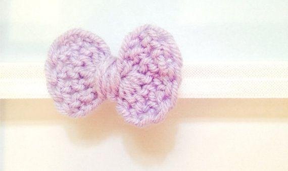 Crochet Bow Baby Headband by LillyHeadbands on Etsy, $10.00